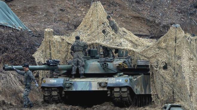 Secara signifikan lebih AS dan Korea Selatan tentara mengambil bagian dalam latihan bersama tahun ini