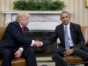 Barack Obama mengatakan kepada Donald Trump - Anda tidak bisa melakukannya sendiri