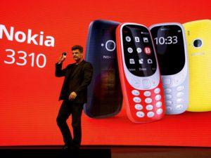 Nokia 3310 Telah Kembali di 2017, Kini dengan Baterai Lebih Lama dan Permainan Ular