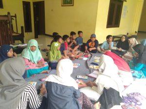 Ft : Siswa - siswi SD Limas Belajar di Kampung Inggris Pare  - Kediri