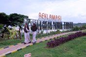 Taman Bukit Daun Hasi Reklamasi yang menjadi tempat wisata di Tuban