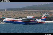 Ilustrasi- Pesawat amfibi BE 200 ES produksi perusahaan dirgantara Rusia, Beriev. (beriev.com)