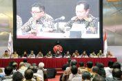 Foto : Semen Indonesia menggelar Rapat Umum Pemegang Saham (RUPS) Tahun Buku 2017 di Jakarta. RUPS memutuskan pembagian deviden sebesar 40% dan mengangkat beberapa jajaran Komisaris dan Direksi baru.