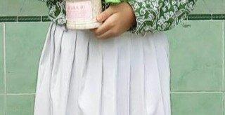 Foto : Sekar Nuraini Hadijah siswi kelas V MiNU2 Waru