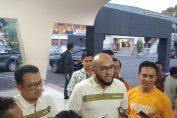 Direktur Pemasaran dan Supply Chain Semen Indonesia Adi Munandir saat sesi wawancara di Wisma A. Yani Gresik