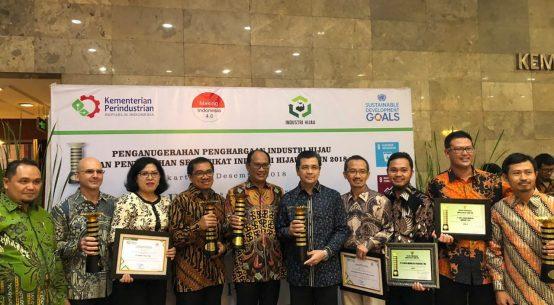 Semen Indonesia Raih Penghargaan Industri Hijau dari Kementerian Perindustrian