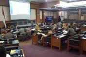 Rapat menghadapi Pilkades Serentak 2019 DPRD, Pemkab dan APH di Ruang Paripurna DPRD Gresik