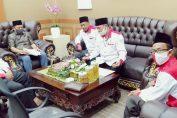 Ketua DPC Abpednas Gresik bersama PH Saat melakukan pertemuan dengan Ketua DPRD Gresik.