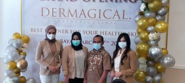 Launcing Dermagical Aesthetic Clinic di Jalan Ngagel Jaya Utara No. 94 Surabaya