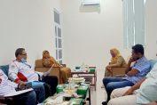 Pertemuan audensi DPMD, AKD dan Abpednas Gresik di kantor DPMD Gresik