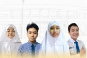 5 siswa prestasi yang mengikuti event Olimpiade Online Star Gemilang
