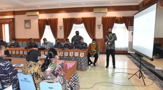 Sosialisasi perkembangan penilaian IKPA Triwulan I TA 2021 oleh KPPN Surabaya 1