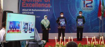 SD Muhammadiyah 2 GKB saat luncurkan buku kiat menjadi sekolah sehat nasional