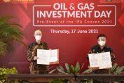 Penandatanganan MoU pembelian Gas oleh Petrokimia Gresik dengan Kangean Energy Indonesia