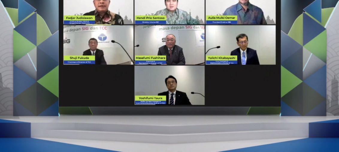 Ceremony kerja sama dilaksanakan secara virtual di Jakarta dan Tokyo pada tanggal 4 Agustus 2021.